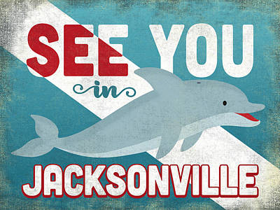 Designs Similar to See You In Jacksonville Dolphin