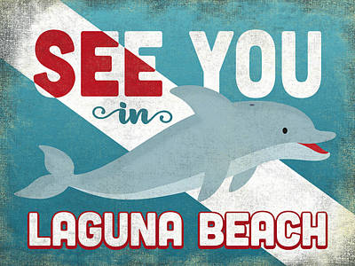 Designs Similar to See You In Laguna Beach Dolphin