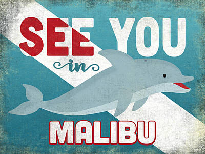 Designs Similar to See You In Malibu Dolphin