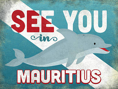 Designs Similar to See You In Mauritius Dolphin