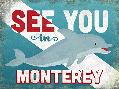 Designs Similar to See You In Monterey Dolphin