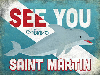 Designs Similar to See You In Saint Martin Dolphin