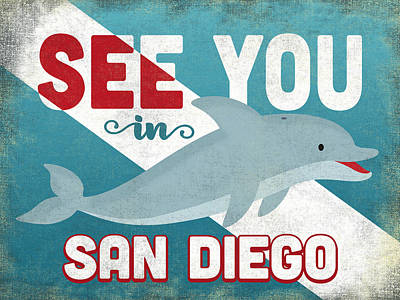 Designs Similar to See You In San Diego Dolphin