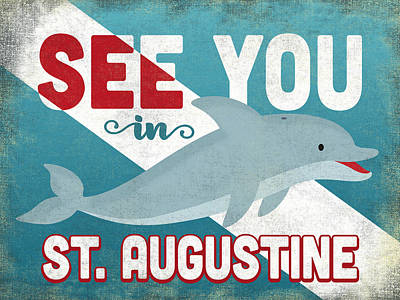 Designs Similar to See You In St Augustine Dolphin