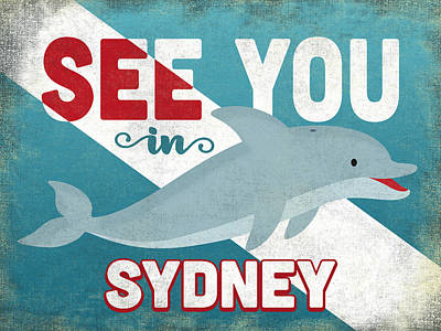 Designs Similar to See You In Sydney Dolphin