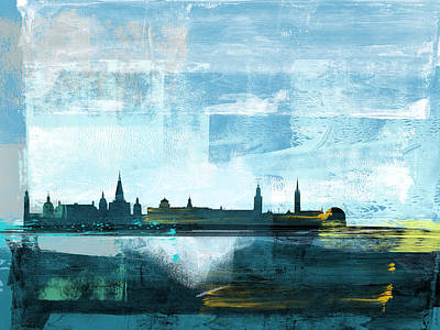 Designs Similar to Stockholm Abstract Skyline I