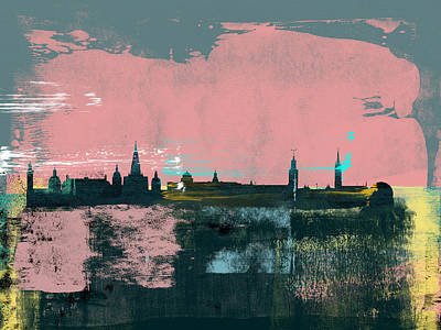 Designs Similar to Stockholm Abstract Skyline II