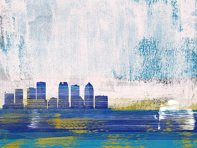 Designs Similar to Tampa Abstract Skyline I