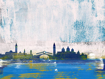Designs Similar to Venice Abstract Skyline I