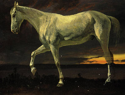 Designs Similar to White Horse And Sunset, 1863