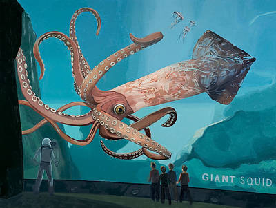 Designs Similar to The Squid by Scott Listfield