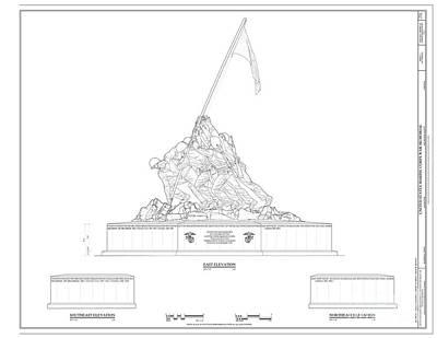 Iwo Jima Drawings