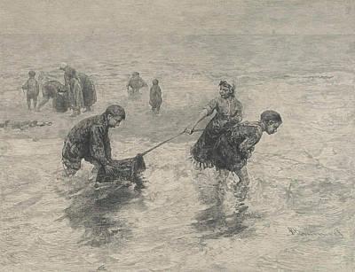 Shrimp Boat Drawings Prints