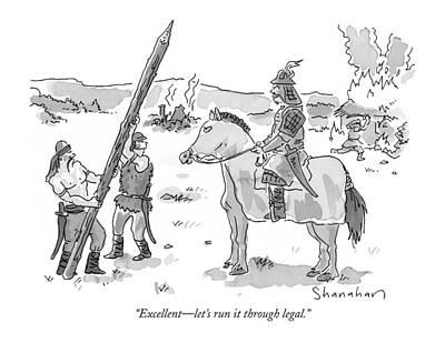 Horseback Drawings
