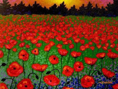 Giclee Poppy Prints