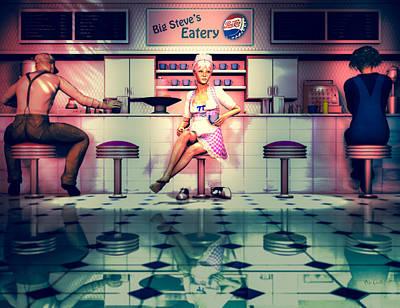 Eatery Digital Art