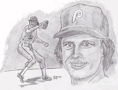 Steve Carlton Drawings