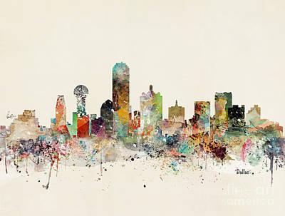 Designs Similar to Dallas Skyline by Bri Buckley