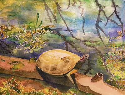 Nature Center Pond Original Artwork