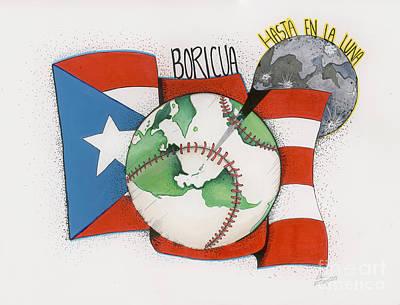 Puerto Rico Mixed Media Original Artwork