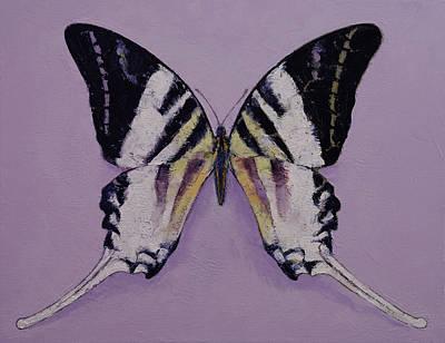 Zebra Swallowtail Paintings