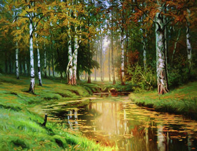 Designs Similar to Long Indian Summer In The Woods
