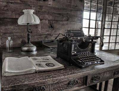 Typewriter Photographs Original Artwork