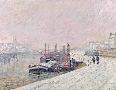 Snow . Bridge Prints