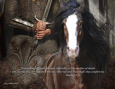 Draft Horses Digital Art