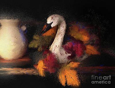 Designs Similar to Autumn Swan by Lois Bryan