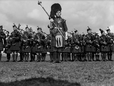 Designs Similar to Bagpipe Band by Fox Photos