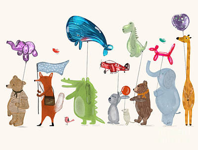 Designs Similar to Balloon Parade by Bri Buckley