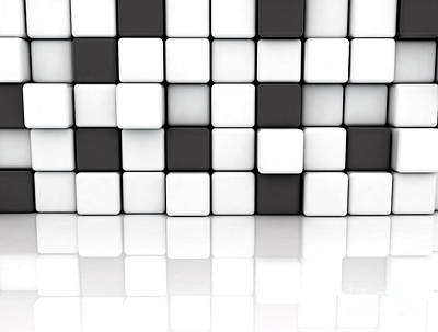 Designs Similar to Black And White Cubes
