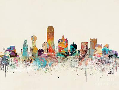 Designs Similar to Dallas Texas Skyline