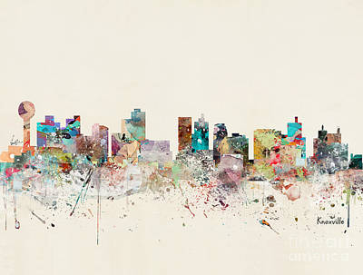 Designs Similar to Knoxville Tennessee Skyline