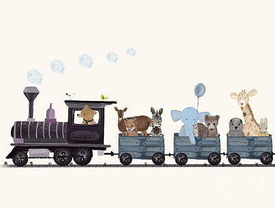 Designs Similar to Little Nature Train