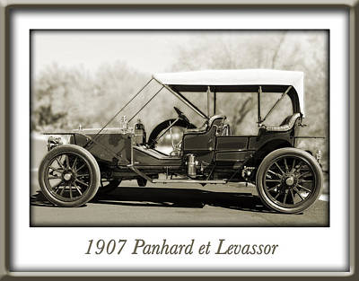 Designs Similar to 1907 Panhard Et Levassor