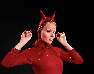Designs Similar to 1960s Woman Red Devil Costume