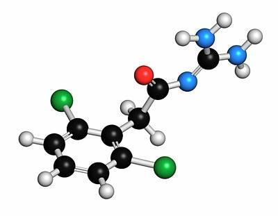 Designs Similar to Guanfacine Adhd Drug Molecule