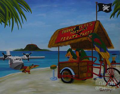 Pirate Party Original Artwork