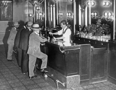 Designs Similar to Patrons At A Speakeasy In Sf