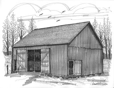 Old Stone House Museum Drawings