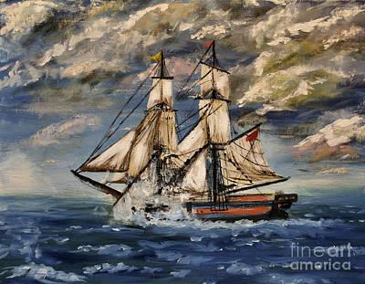 Galleons Original Artwork