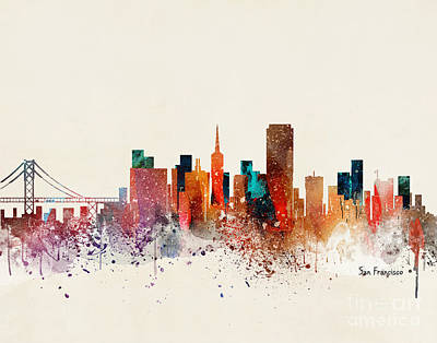 Designs Similar to San Francisco Skyline