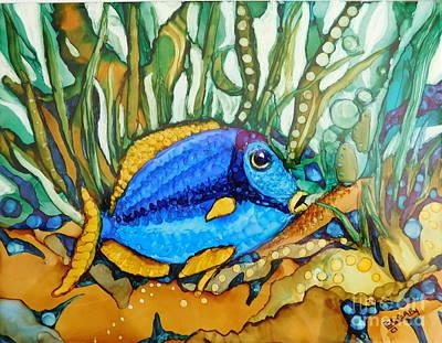 Fish On A Reef Original Artwork