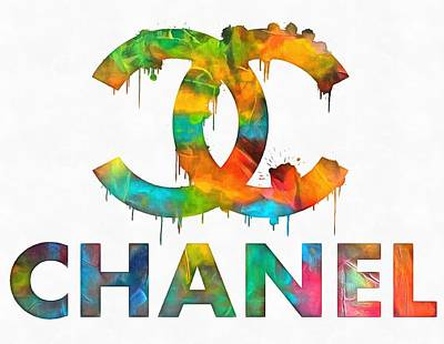 Chanel Number Five Paintings
