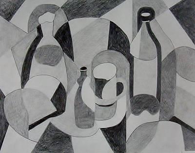 Bottlecap Drawings Prints
