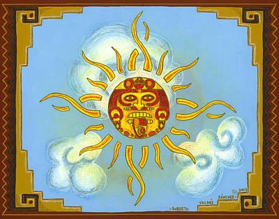 Mayan Mythology Paintings