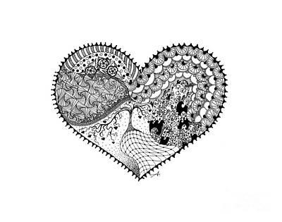 Zentangles Drawings
