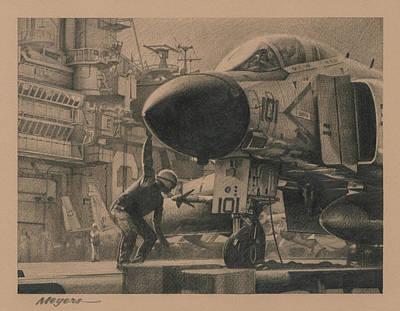 Jet Aircraft Original Artwork